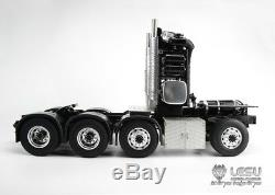LESU 1/14 MAN RC 88 Metal Heavy-Duty Chassis for Tractor Truck Model Equipment