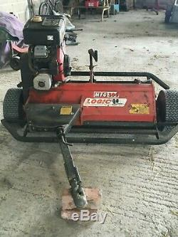 LOGIC MFG 300 Flail Mower /Topper With Eletric Start
