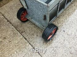 Lamb Creep Feed Feeder VAT INCLUDED Mobile 8ft Winders All Working