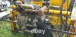 Log trailer with heavy duty hiab 20 ton atlas 3008