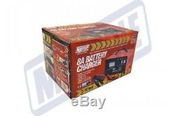 Maypole Heavy Duty Steel 8A 8 Amp 12V Car Van Tractor Battery Charger #MP713