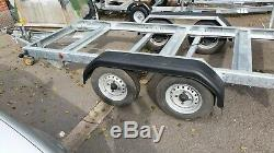 Meredith Eyre heavy duty plant trailer brand new old stock flat bed or teardrop