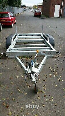 Meredith Eyre heavy duty plant trailer brand new old stock flatbed generator