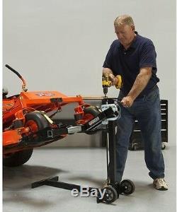 MoJack XT Lawn Tractor Mower Lift 500lbs Capacity Manual Jack Lifter Heavy Duty