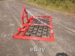 Mounted Chain HarrowithGrass Harrow 3 Meter Manual Fold Heavy Duty Small Tractor