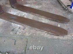 Msi Pallet Fork Tines To Suit 16 Backplate Heavy Duty Forklift Loader Tractor