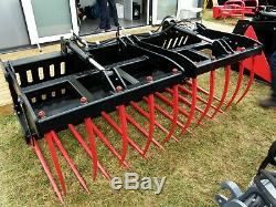 Muck Grab split-sided 2.2 meter. Heavy Duty for telehandler. £2385 plus VAT