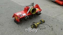 Muratori MZ2 rotovator, compact tractor rotovator, heavy duty