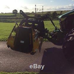 Muthing MUL 250 Flail Mower Grass Cutter Tractor John Deere Massey Ferguson