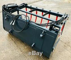 NEW EURO 8 MUCK GRAB, Choice of sizes to fit tractor, massey, john deere, bucket