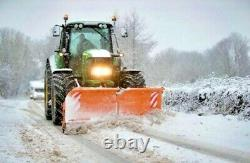 NEW HEAVY DUTY TRACTOR MOUNTED HYDRAULIC SNOW PLOUGHS, gritter, plough, salt, jcb