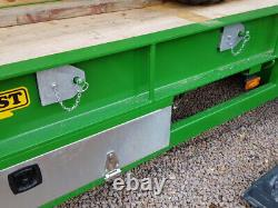 NEW HERBST 28ft HEAVY DUTY TRIAXLE 26 tonne Carry Plant Trailer In Stock For Imm