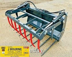 NEW SKIDSTEER BOBCAT MUCK GRAB, Choice of sizes, belle, gehl, jcb robot, tractor