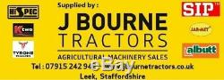 NEW TRACTOR MOUNTED HEAVY DUTY HYDRAULIC SNOW PLOUGH, gritter, jcb, front linkage