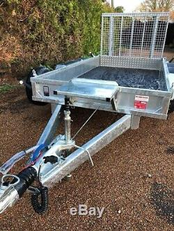 New Nugent Heavy Duty Plant P3116H Trailer 10'3x5'3 Ramp Tailboard, 3500KG