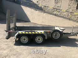 Nugent Heavy Duty Plant Trailer 9x4- Ramp Tailboard, 2700KG led lights
