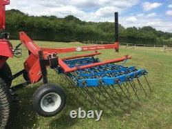 Opico Grass Harrow 2 metres mounted heavy duty for compact tractor, non folding