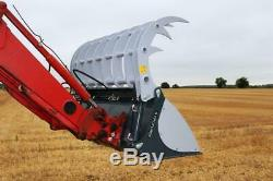 PROFORGE Bucket Grab HEAVY DUTY with Euro Brackets 1.8mtr (6ft)
