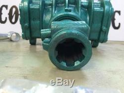 PTO AIR COMPRESSOR Heavy Duty Cast Iron Twin Cylinder 3CFM Capacity FREE SHIPPIN