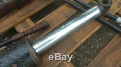 Pair Of Heavy Duty Double Acting Hydraulic Rams