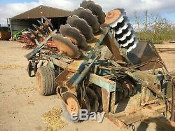 Parmiter Super-utah hydraulic folding heavy duty discs, tractor cultivator