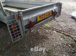Plant GP Builder atv utv quad bale trailer heavy duty logic wessex gardener