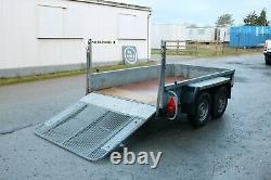 Plant Trailer Twin Axle Heavy Duty With Ramp Ready To Go To Work