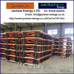 Pull Cart Heavy Duty Truck with 1000kg capability Cartabouta Flat Bed UK STOCK