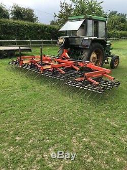 Quantock 6 Meter Grass Harrow Heavy Duty