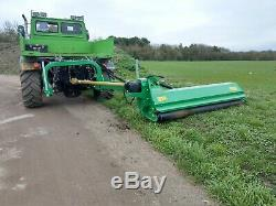RSL Heavy duty off set tractor mounted flail mower topper 2M cut NEW inc VAT
