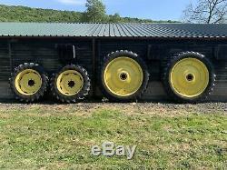 Row crop wheels Front 320/85r32 Rear 320/90r50 Very Strong/Heavy Duty Wheels