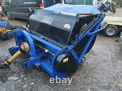 Ryetec Contractor Heavy Duty Flail Mower Collector High Tip