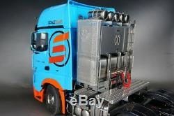 SCALE Full Metal Heavy Duty Equipment Rack Unit for 1/14 Tamiya Scania MAN Benz