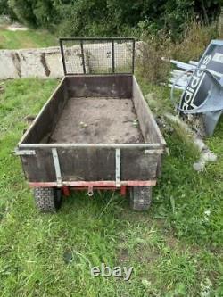 SCH Heavy Duty 4 Wheel Timber Trailer Tractor Trailer RRP £955