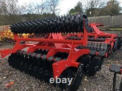 Short-Disc Speed-Disc Harrow Cultivator 3.0m, Packer Roller, Heavy duty, NEW