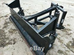 Slewtic heavy duty hydraulic snowplough trench fill tractor grader blade digger