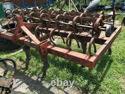 Spring Tine Cultivator heavy duty with levelling wheels £380 plus vat £456