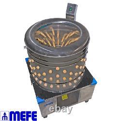 Stainless Steel Rotary Plucking Machine Heavy Duty (CAT 155 6)