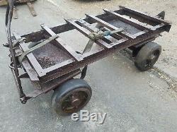 Stationary Engine, Barn Find, Vintage Tractor, Heavy Duty Trolley 4 Restoration