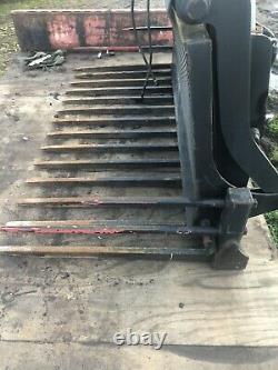 Strimech Heavy Duty Buckrake Fits Loading Shovel Telehandler Tractor