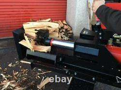 Super Heavy Duty 37 Ton Petrol Log Splitter Nationwide Delivery Available