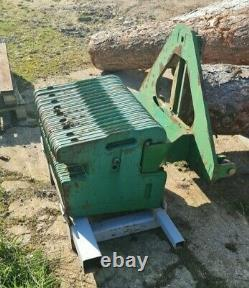 TRACTOR LINKAGE MOUNTED WAFER WEIGHTS 1100Kg & Stand