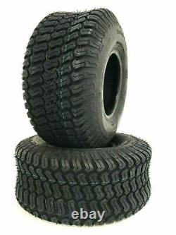 TWO- 20x8.00-10 Lawn Tractor Tires Turf Master 4Ply Heavy Duty 20x8-10