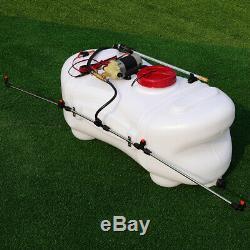 Tank 100 litre ATV/QUAD Sprayer Agricultural Lawn 12v Heavy Duty Pump Spot Lance