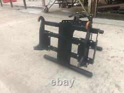 Topgrip bale handler JCB Q-fit brackets. Good condition