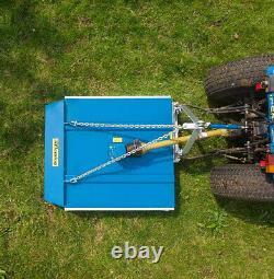 Tractor 6 Ft Offset Topper Fleming Grass / Field Paddock £950 + Vat