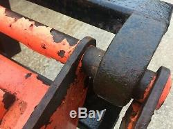 Tractor Bale Spike Lifter VAT INCLUDED On Euro Brackets Heavy Duty
