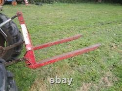 Tractor Mounted 3 Point Linkage Pallet Forks. Agriculture. Farming. Ferguson
