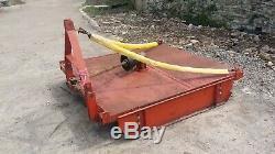 Tractor grass topper mower 6ft heavy duty