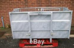 Tractor link transport box heavy duty galvanised NEW